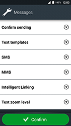 Doro 8035 - SMS - Manual configuration - Step 6