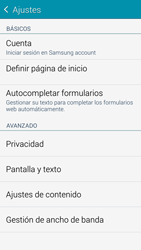 Samsung G900F Galaxy S5 - Internet - Configurar Internet - Paso 22
