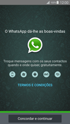 Samsung Galaxy S4 LTE - Aplicações - Como configurar o WhatsApp -  5