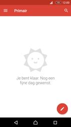 Sony E5603 Xperia M5 - E-mail - handmatig instellen (gmail) - Stap 5