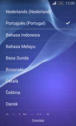Sony Xperia E1 - Primeiros passos - Como ligar o telemóvel pela primeira vez -  4