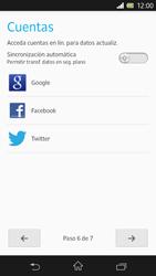 Sony Xperia Z - Primeros pasos - Activar el equipo - Paso 17