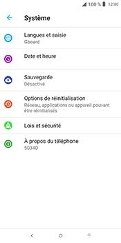 Alcatel 3L - Aller plus loin - Mettre à jour le logiciel interne de votre mobile - Étape 6