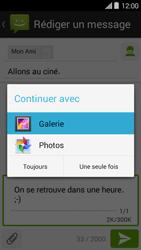 Bouygues Telecom Ultym 5 II - Contact, Appels, SMS/MMS - Envoyer un MMS - Étape 15