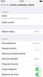 Apple iPhone 6s iOS 9 - E-mail - Configurar Gmail - Paso 9