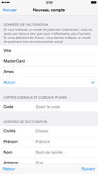 Apple iPhone 6 Plus - Applications - Créer un compte - Étape 19