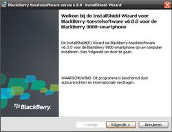 BlackBerry 9800 Torch - Software - installeer firmware update - Stap 9