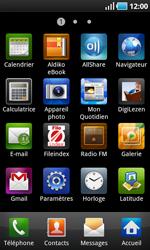Samsung I9000 Galaxy S - E-mail - envoyer un e-mail - Étape 2
