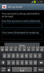 Samsung I8260 Galaxy Core - E-mail - Manual configuration - Step 19