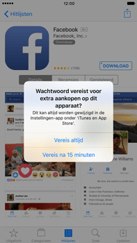 Apple Apple iPhone 6s Plus iOS 10 - Applicaties - Account instellen - Stap 27