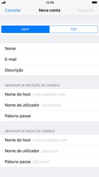 Apple iPhone 7 Plus iOS 11 - Email - Configurar a conta de Email -  11