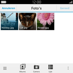 BlackBerry Classic - E-mail - Hoe te versturen - Stap 14
