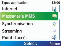 Nokia C3-00 - MMS - configuration manuelle - Étape 8