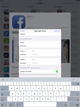 Apple iPad Pro 12.9 inch (Model A1671) - Applicaties - Account aanmaken - Stap 14