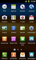 Samsung I9100 Galaxy S II - Internet - hoe te internetten - Stap 2