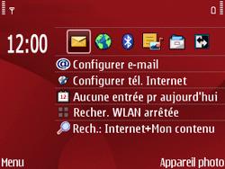 Nokia E63 - MMS - Configuration automatique - Étape 1