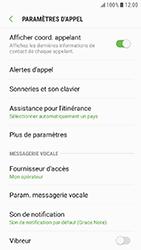 Samsung Galaxy Xcover 4 - Messagerie vocale - Configuration manuelle - Étape 6