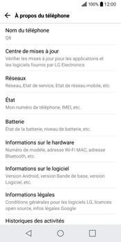 LG Q6 - Réseau - Installation de mises à jour - Étape 6