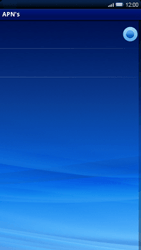 Sony Ericsson Xperia X10 - Internet - handmatig instellen - Stap 12