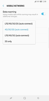 Samsung Galaxy Note 8 - Network - Enable 4G/LTE - Step 7