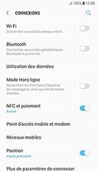 Samsung Galaxy J3 (2017) - Internet et connexion - Accéder au réseau Wi-Fi - Étape 5