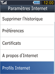 Samsung B3410 Star Qwerty - Internet - configuration manuelle - Étape 7
