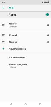 Wiko View 2 Plus - Wifi - configuration manuelle - Étape 8