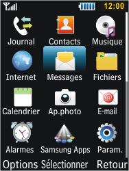 Samsung S5610 Primo - MMS - envoi d'images - Étape 2