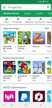 Samsung Galaxy S9 Plus - Aplicações - Como pesquisar e instalar aplicações -  4