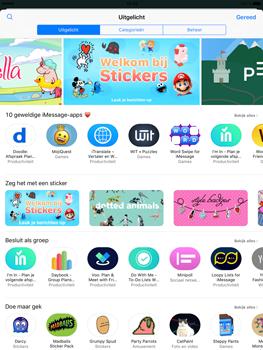 Apple iPad Pro 9.7 - iOS 10 - iOS features - Stuur een iMessage - Stap 18