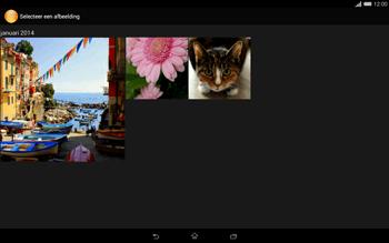 Sony Xperia Tablet Z2 (SGP521) - MMS - afbeeldingen verzenden - Stap 16