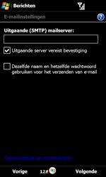 Samsung B7610 Omnia Qwerty - E-mail - handmatig instellen - Stap 11