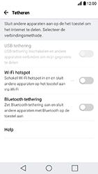 LG K10 (2017) (LG-M250n) - WiFi - Mobiele hotspot instellen - Stap 4