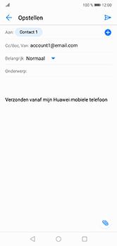 Huawei P20 Lite - E-mail - e-mail versturen - Stap 6