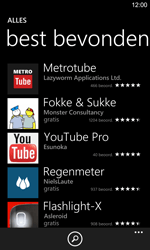 Nokia Lumia 925 - Applicaties - Downloaden - Stap 10