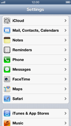 Apple iPhone 5 - Applications - Create an account - Step 3
