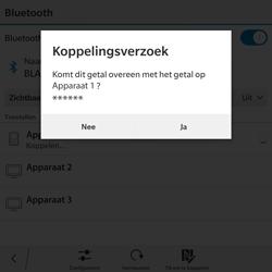 BlackBerry Passport - Bluetooth - Headset, carkit verbinding - Stap 8