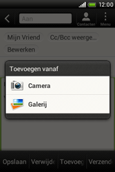HTC A320e Desire C - E-mail - hoe te versturen - Stap 12