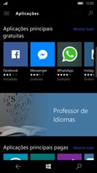 Microsoft Lumia 950 - Aplicações - Como pesquisar e instalar aplicações -  7