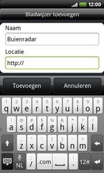 HTC A7272 Desire Z - Internet - hoe te internetten - Stap 7