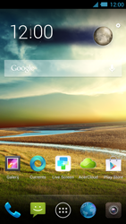 Acer Liquid S2 - Internet - Handmatig instellen - Stap 1