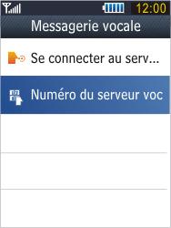 Samsung B3410 Star Qwerty - Messagerie vocale - configuration manuelle - Étape 8