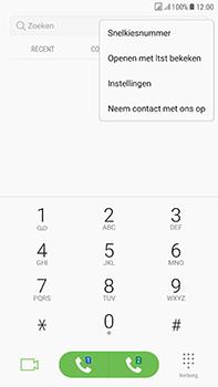 Samsung J730F Galaxy J7 (2017) (DualSIM) - Voicemail - handmatig instellen - Stap 6