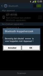 Samsung I9195 Galaxy S IV Mini LTE - Bluetooth - headset, carkit verbinding - Stap 7