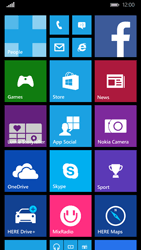 Nokia Lumia 830 - SMS - Manual configuration - Step 1