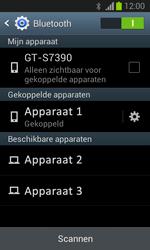 Samsung S7390 Galaxy Trend Lite - Bluetooth - koppelen met ander apparaat - Stap 10