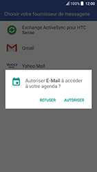 HTC U Play - E-mail - 032c. Email wizard - Outlook - Étape 6
