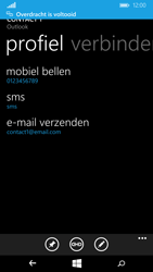 Microsoft Lumia 640 (Type RM-1072) - Contacten en data - Contacten overzetten via Bluetooth - Stap 11
