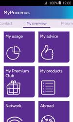 Samsung Galaxy J1 - Applications - MyProximus - Step 12