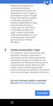 Motorola Moto G6 Play - Primeiros passos - Como ativar seu aparelho - Etapa 16
